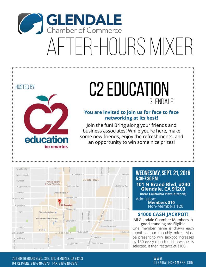 C2 Education Mixer